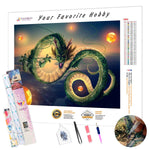 Load image into Gallery viewer, Wriggling Dragon DIY Diamond Painting Kit
