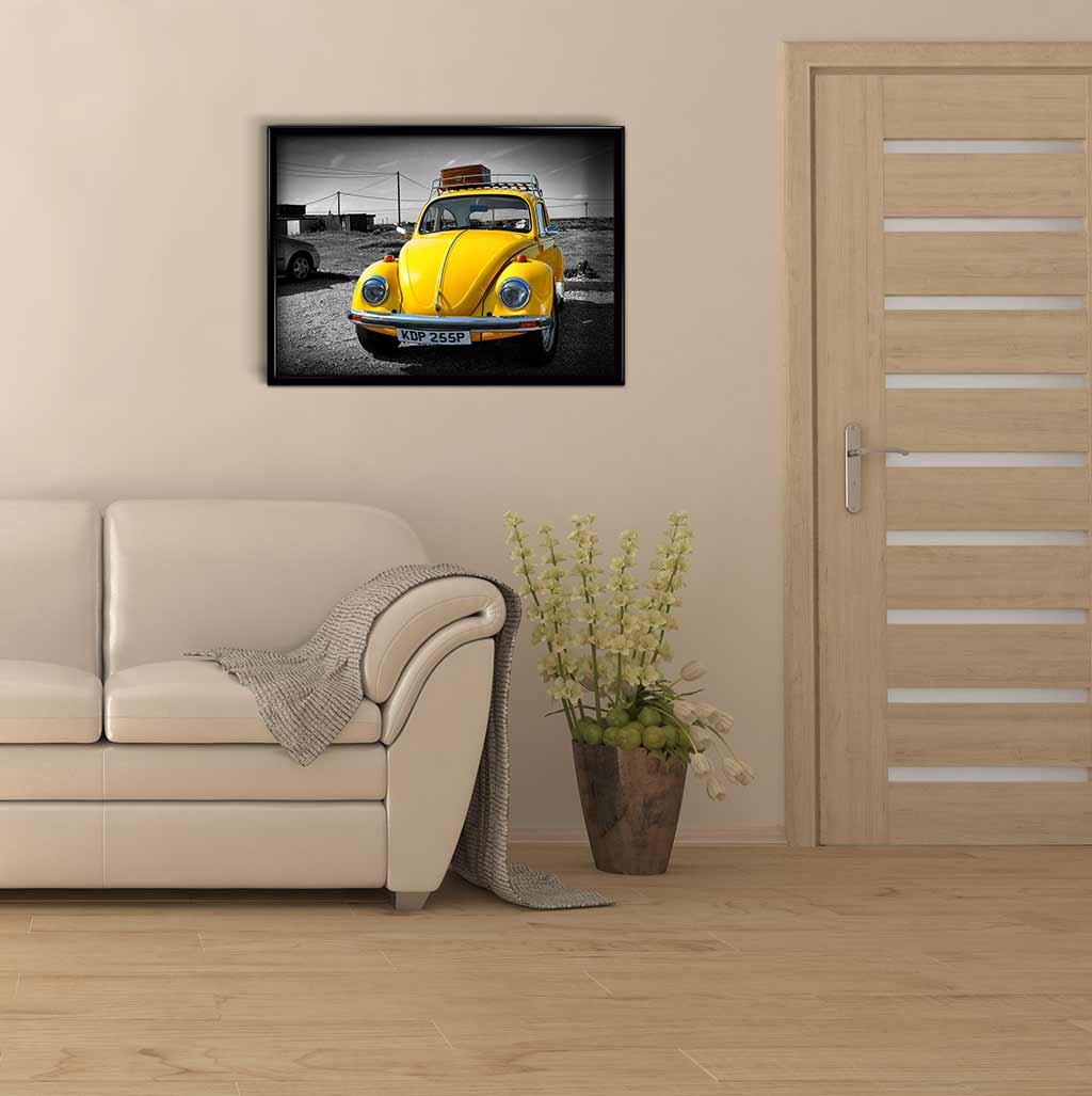 Yellow Bug DIY Diamond Painting Kit