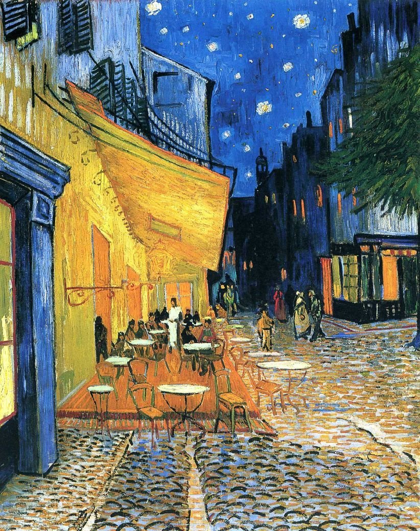 Cafe Terrace at Night by Vincent van Gogh DIY Diamond Painting Kit