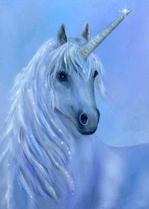 Purple Unicorn DIY Diamond Painting Kit