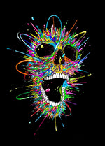 Load image into Gallery viewer, Colorful Skull DIY Diamond Painting Kit