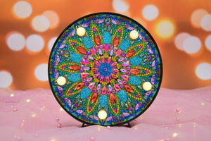 Mandala Sun Heat Round LED Lamp DIY Diamond Painting