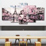Load image into Gallery viewer, Romantic Picturesque Paris 5pcs/set DIY Diamond Painting Kit