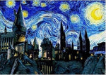 Load image into Gallery viewer, Magic castle vincent van gogh style DIY Diamond Painting Kit