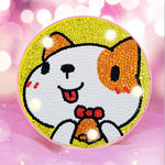 Load image into Gallery viewer, LED Lamp Cat Red Ears DIY Diamond Painting