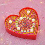 Load image into Gallery viewer, LED Lamp Light Heart Shiny Drops DIY Diamond Painting