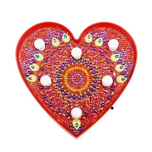 Pomegranate Heart Light LED Lamp DIY Diamond Painting
