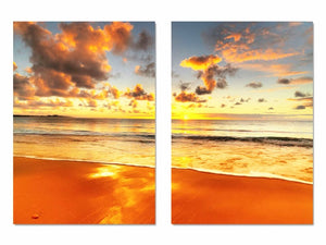 Multi-picture combination Orange Tide 2pc DIY Diamond Painting Kit