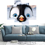 Load image into Gallery viewer, Multi-picture Blue-Eyed Penguin 4pcs/set DIY Diamond Painting Kit