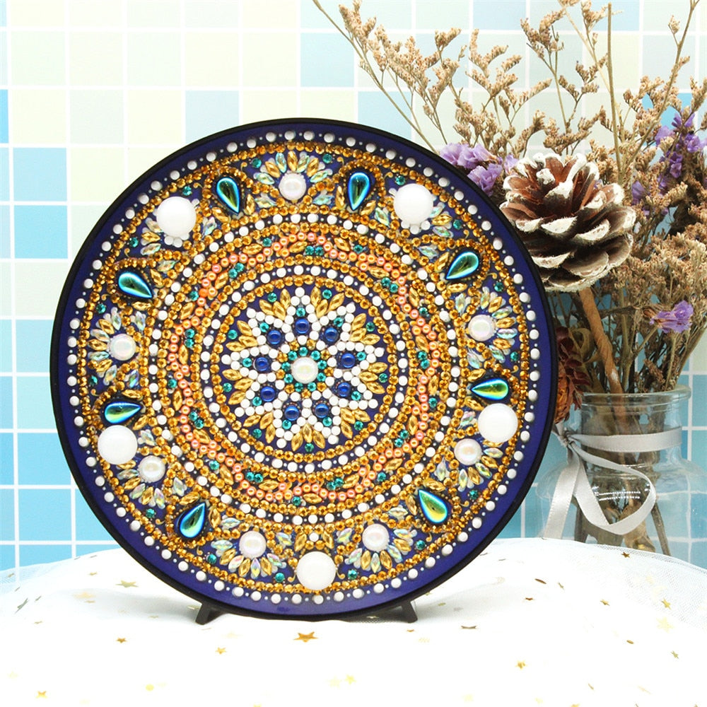 Sacred Mandala LED Lamp Light DIY Diamond Painting