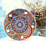 Load image into Gallery viewer, Circular Patterns LED Lamp Light DIY Diamond Painting