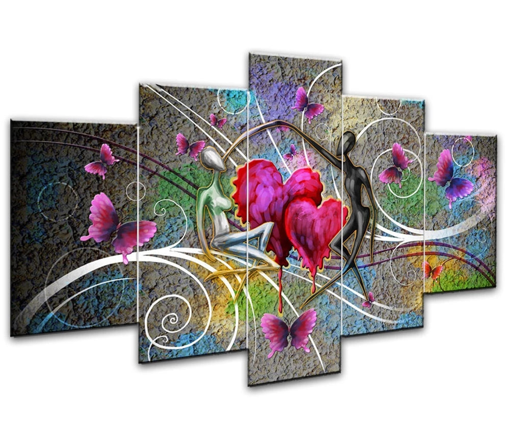 Lover picture Combination 5 pc DIY Diamond Painting Kit