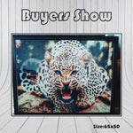 Load image into Gallery viewer, Leopard DIY Diamond Painting Kit