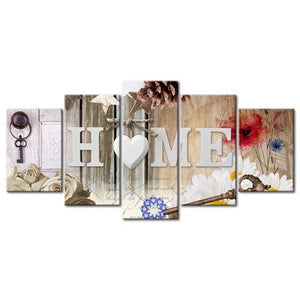 Love at Home 5pcs/set DIY Diamond Painting Kit