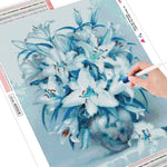 Load image into Gallery viewer, Flower Picture DIY Diamond Painting Kit