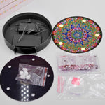 Load image into Gallery viewer, Mandala Sun Heat Round LED Lamp DIY Diamond Painting