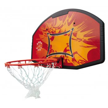 Sure Shot 63507R Coloured Backboard & Ring Set