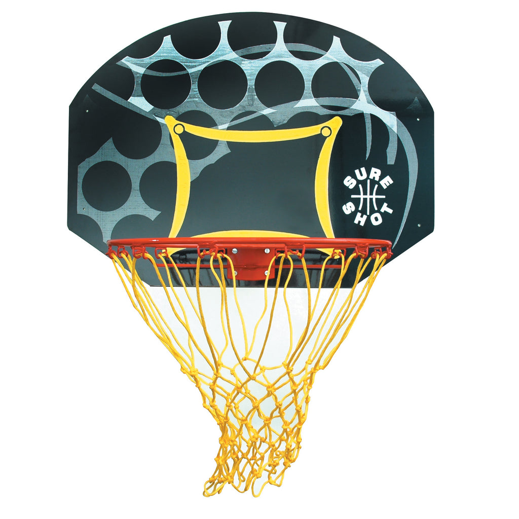 Sure Shot 65521R Junior Coloured Backboard & Ring Set