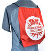 Basketball England Drawstring Bag