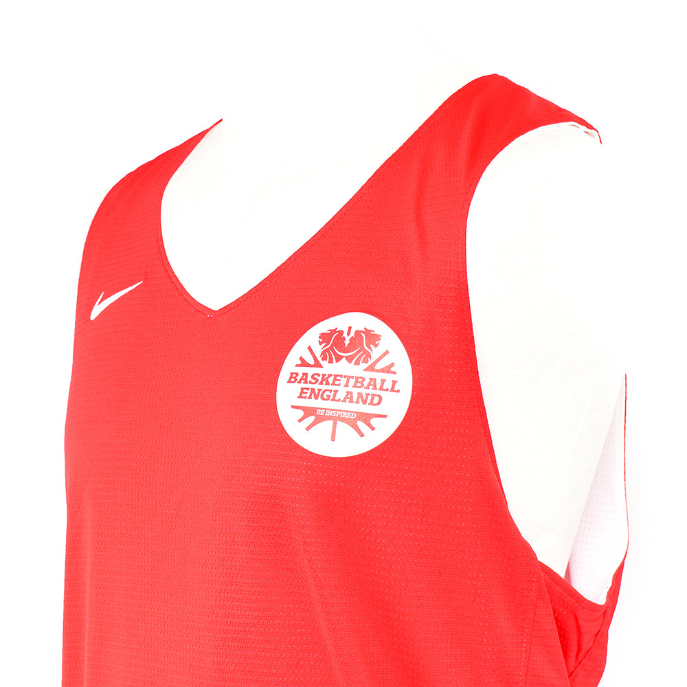 Basketball England Nike Mens Reversible Jersey