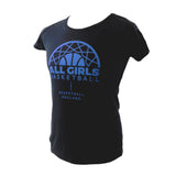 Basketball England Womens All Girls T-Shirt