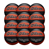 Wilson Basketball England Evolution Official Game Ball - Bundle of 12