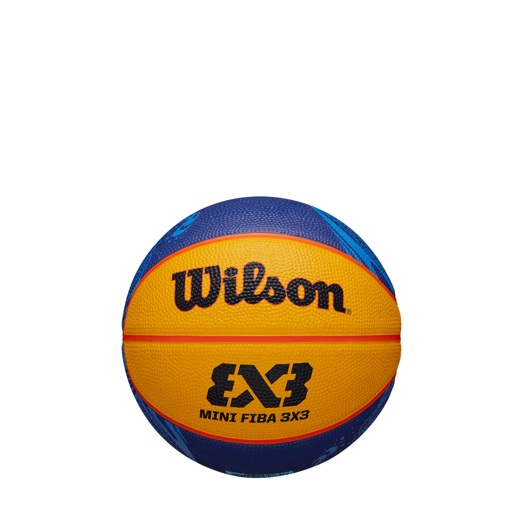Wilson FIBA 3x3 Mini Rubber Basketball 2020 World Tour