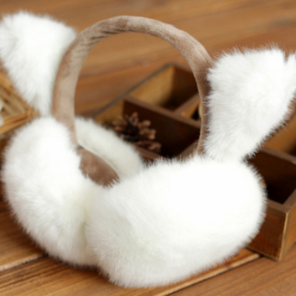 Cute Cat Ear Earmuffs