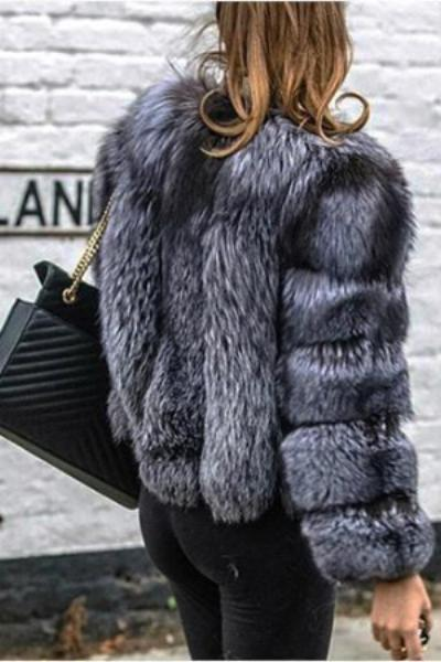 Silver Fox Fur Coats