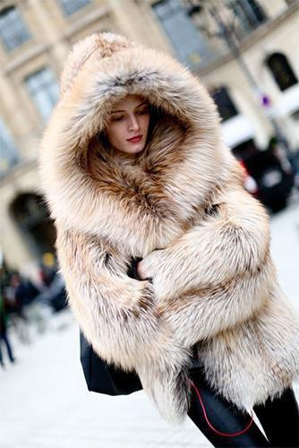 8e67dfa3fd8 Hooded Fox Fur Coat