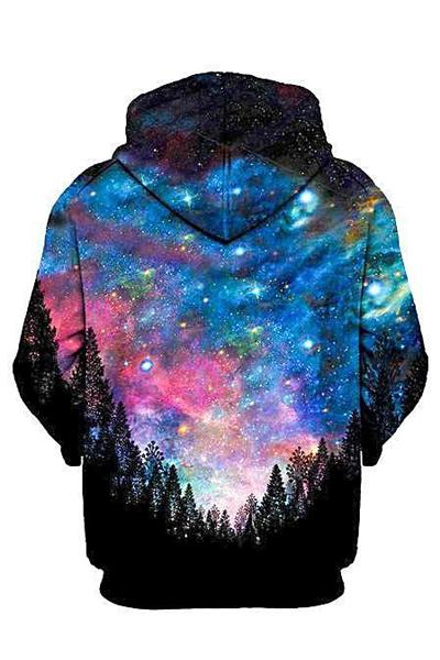 Galactic Valley Unisex Zip-Up Hoodie