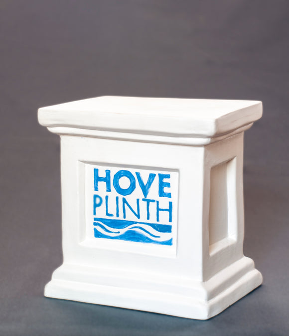 Jackie Summerfield - Plinth with logo