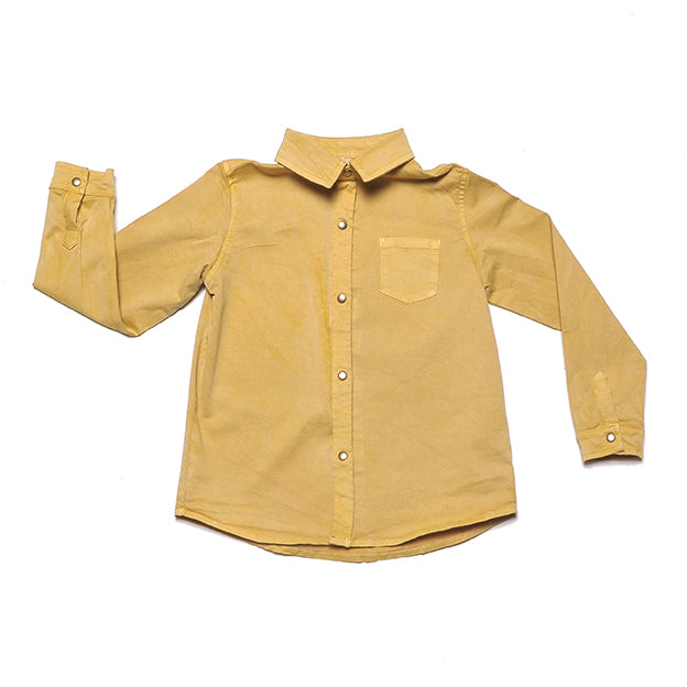 ORBITA OCHRE Embroidery - Shirt