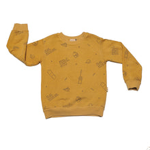 MERCURIO OCHRE Allover Sweatshirt