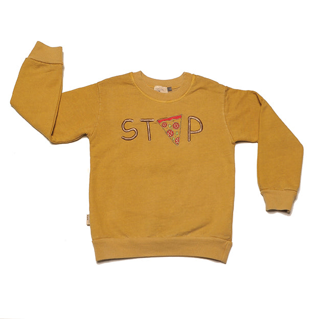 MERCURIO OCHER - Embroidery - Sweatshirt