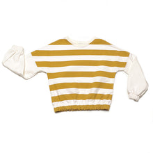 NINA RAW STRIPES sweatshirt