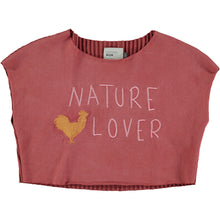CROP TOP CAPUCINE NATURE Embroidery