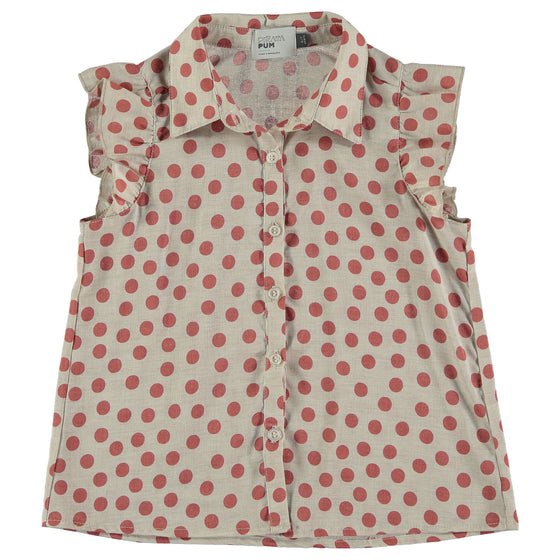 FLAMINGO DOTS SHIRT