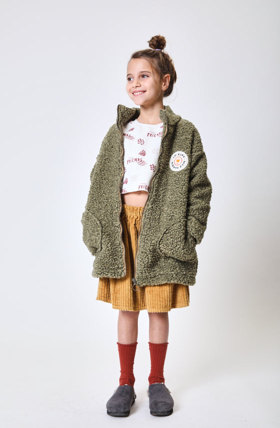 ADRI KHAKI PATCH - COAT