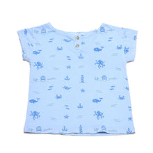 CHICO BLUE T-SHIRT ALLOVER