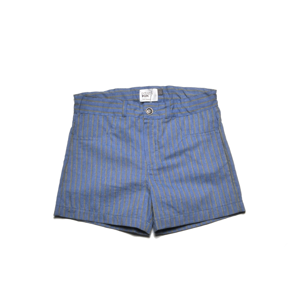 HABANA FAKE DENIM SHORTS