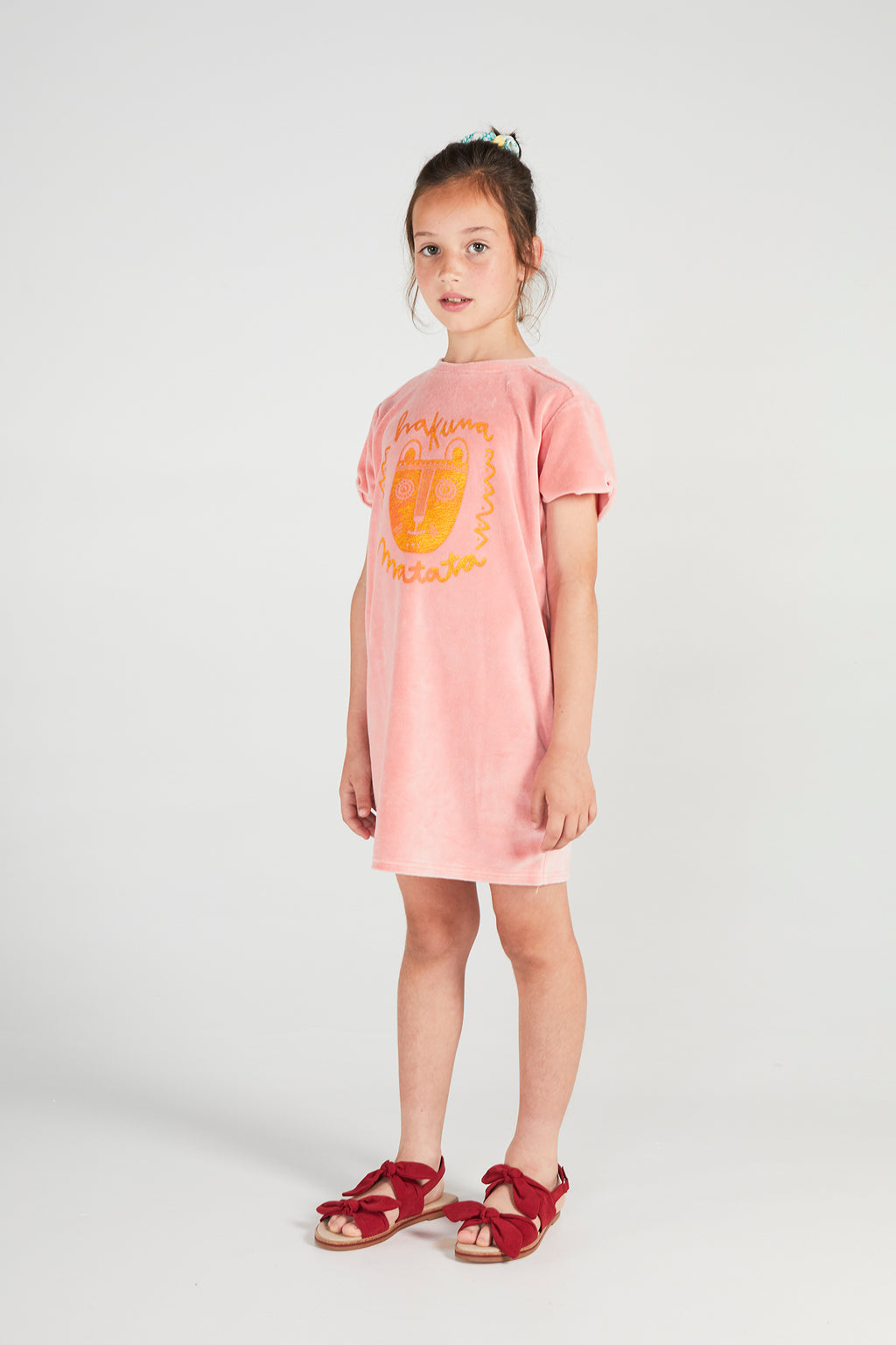 MALECÓN APRICOT TERRY DRESS