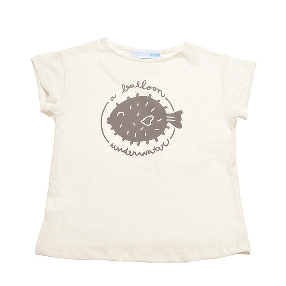 PALMER RAW T-SHIRT BALLOON