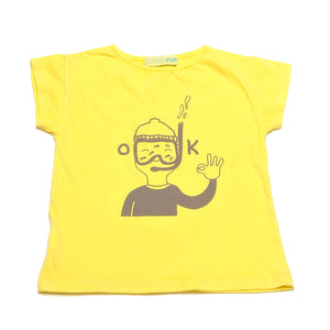 PALMER YELLOW T-SHIRT DIVER