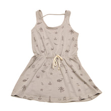 PEIXITU GREY DRESS ALLOVER