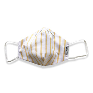 YELLOW STRIPES MASK - TEIXIT CERTIFICAT - TEJIDO CERTIFICADO