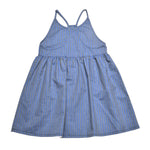 CUBA FAKE DENIM DRESS