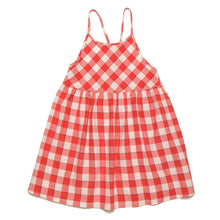 CUBA RED SQUARES DRESS