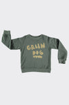 MERCURIO DARK GREEN - SWEATSHIRT