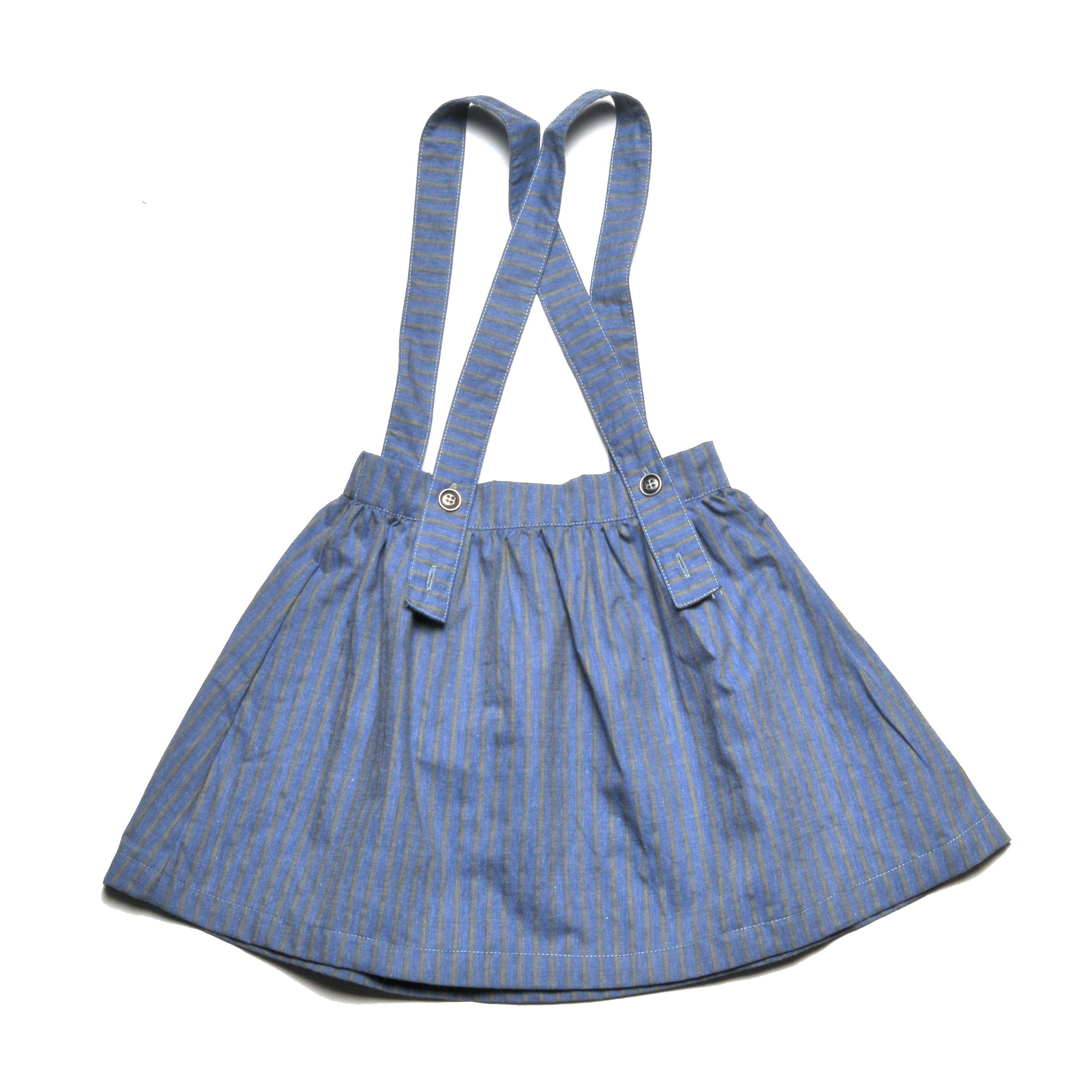 OSTRA FAKE DENIM SKIRT